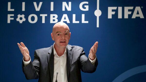 FIFA Başkanı Gianni Infantino - Sputnik Türkiye