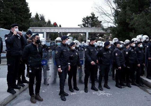 Boğaziçi Üniversitesi-polis