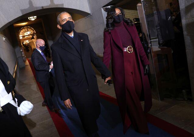 Barack Obama- Michelle Obama