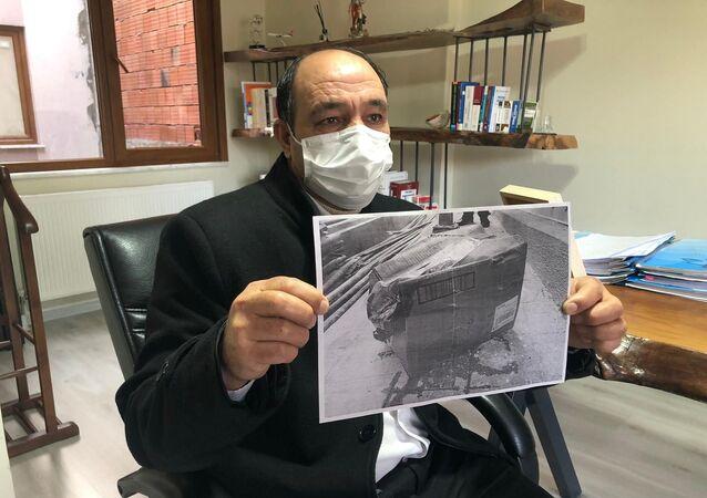 dalağı kaybolan Ahmet Kıral