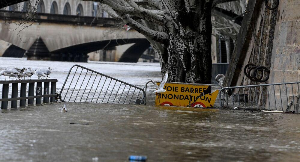 Fransa - sel - yağış