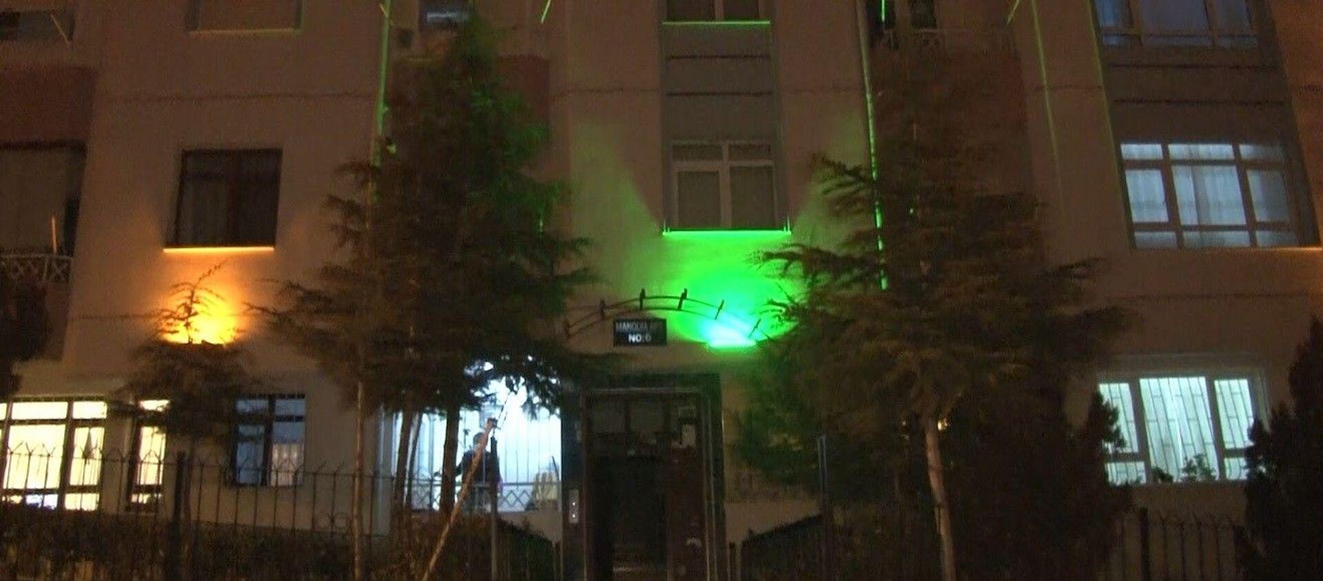 Ankara'nın Keçiören ilçesinde 21 daire bulunan bir binada 6 kişinin koronavirüs testi pozitif çıktı.  - Sputnik Türkiye, 1920, 03.02.2021