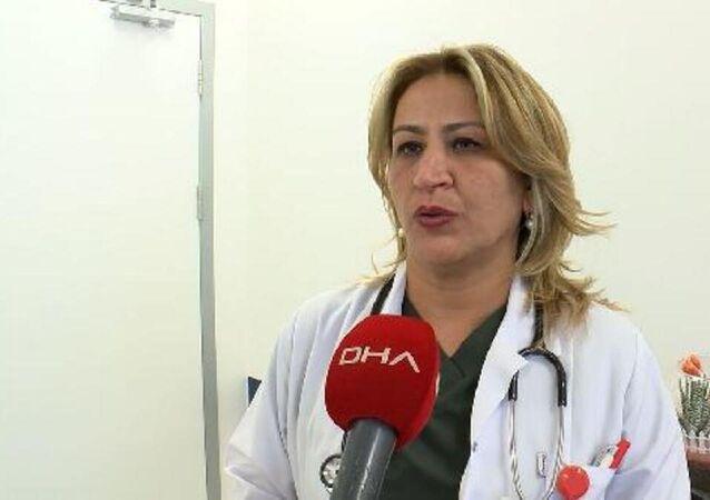 Sağlık Bakanlığı Koronavirüs Bilim Kurulu Üyesi Prof. Dr. Sema Turan,