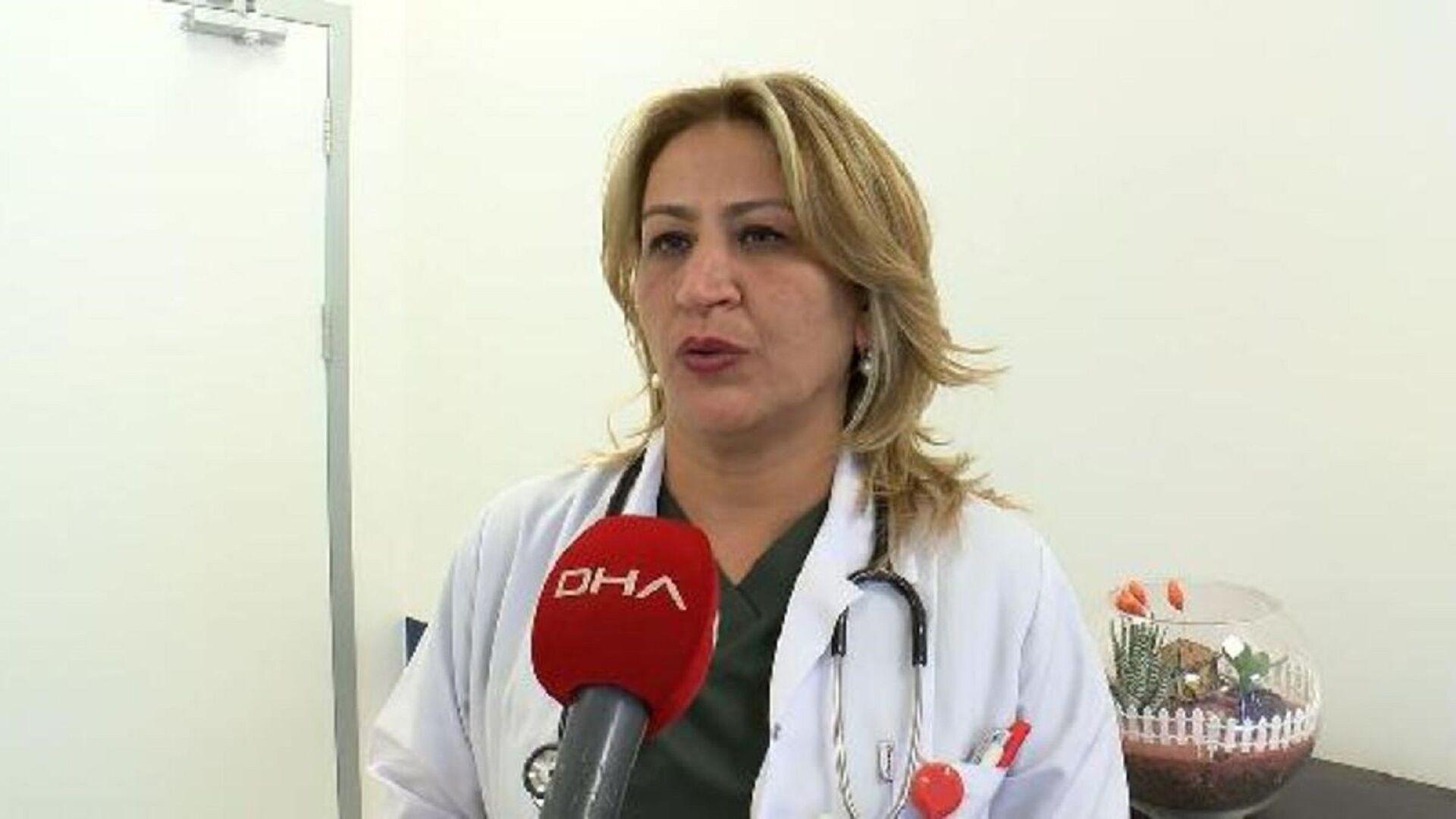 Sağlık Bakanlığı Koronavirüs Bilim Kurulu Üyesi Prof. Dr. Sema Turan, - Sputnik Türkiye, 1920, 04.02.2021