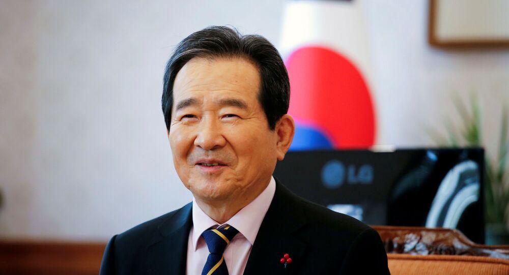 Chung Sye-kyun, Güney Kore Başbakanı