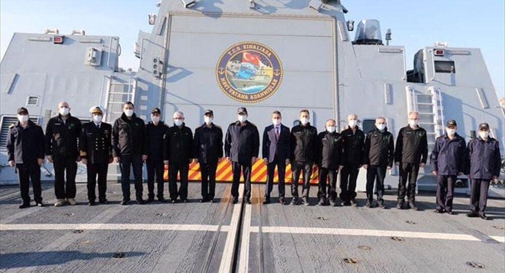 Roketsan'ın geliştirdiği uzun menzilli gemisavar füzesi Atmaca Sinop'ta test edildi