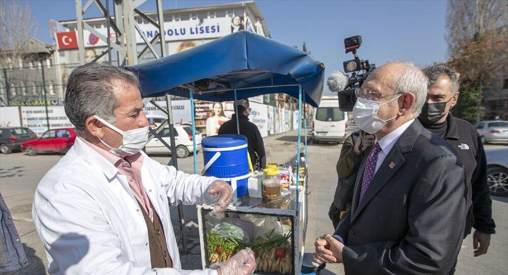 Kılıçdaroğlu'nun esnafı ziyareti
