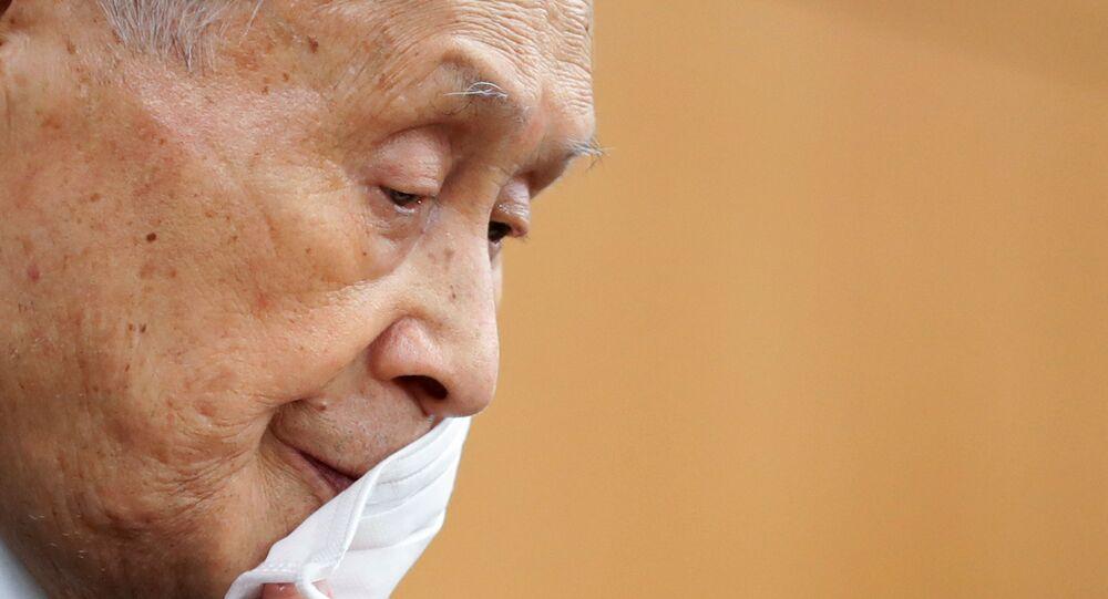 Tokyo Olimpiyatları ve Paralimpik Oyunları Organizasyon Komitesi Başkanı Mori Yoşiro