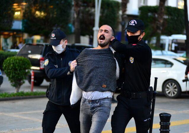 Boğaziçi Üniversitesi - Adana - protesto