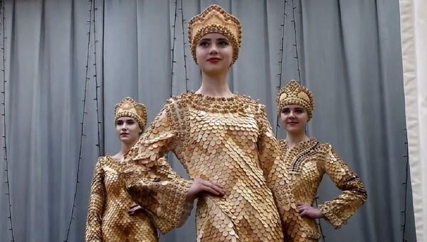 Sibirya'da sedir çamından kıyafetler yapıyorlar - Sputnik Türkiye