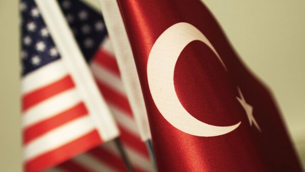 ABD Türkiye bayrakları - Sputnik Türkiye