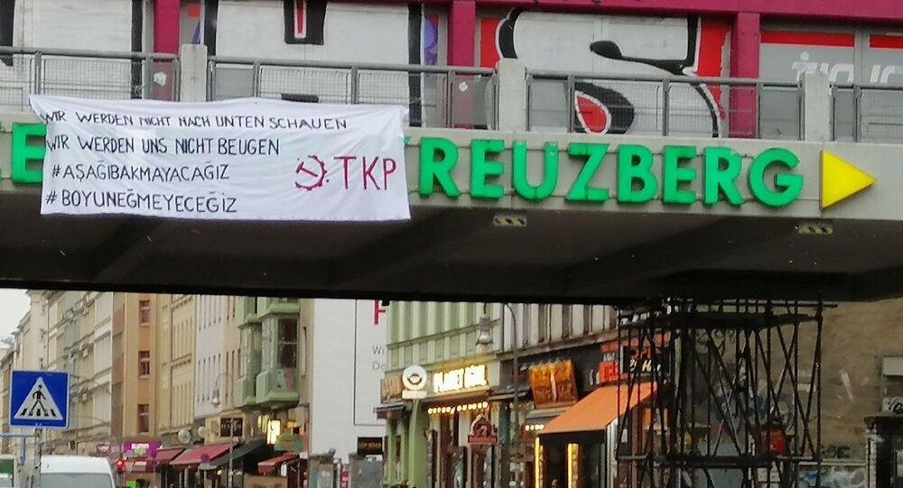 Almanya'daki Boğaziçi Üniversitesi protestosu