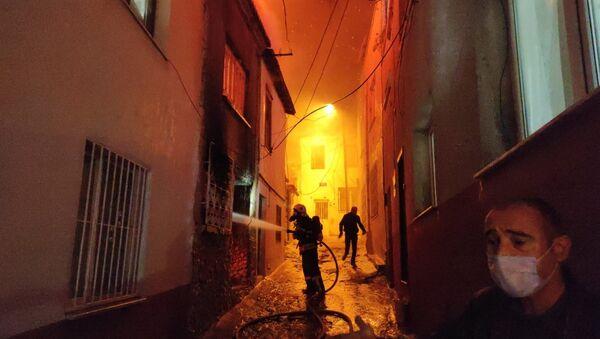 Kuşadası yangın - Sputnik Türkiye