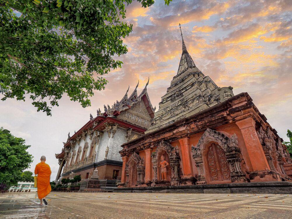 Wiki Anıtları Seviyor 2020 yarışmasının kazananlarından Taylandlı fotoğrafçı Athichitra'nın çalışması