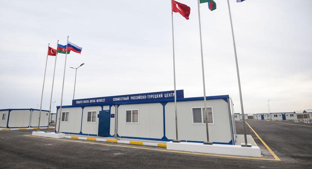 Dağlık Karabağ'daki Türk-Rus Ateşkesi İzleme Merkezi