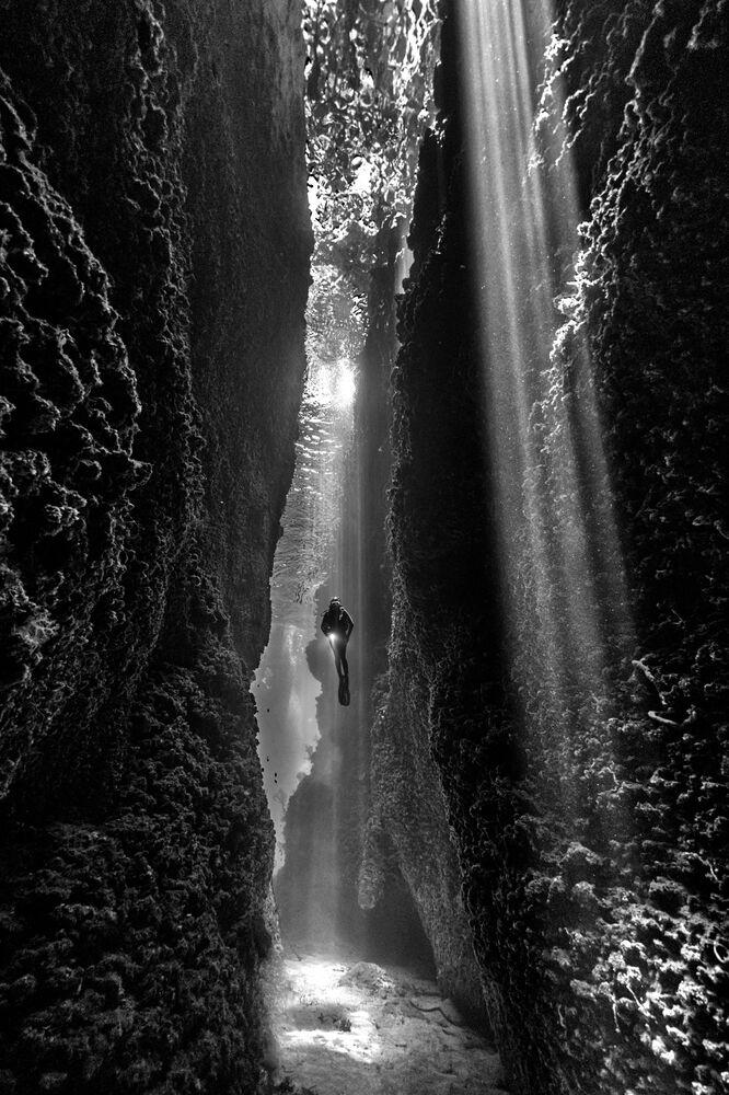 Yarışmanın Siyah ve Beyaz kategorisinde birinci seçilen Avustralyalı fotoğrafçı Diana Fernie'nin fotoğrafı, Solomon Adaları'nda çekildi
