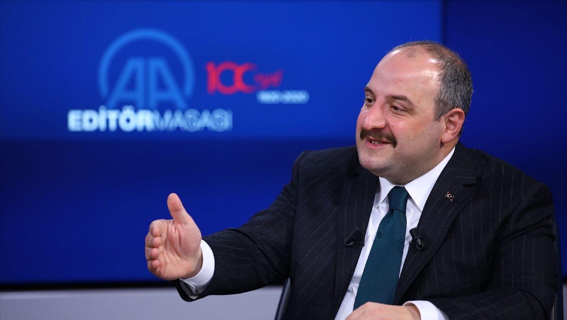 Sanayi ve Teknoloji Bakanı Mustafa Varank - Sputnik Türkiye, 1920, 10.02.2021