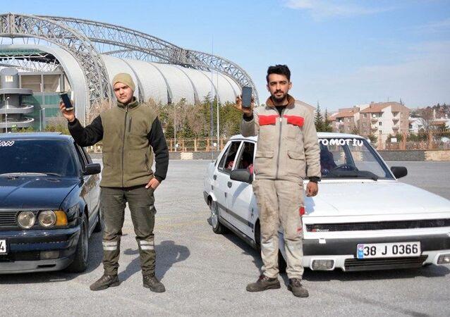 Yalçın Abravcı ve İsmail Aydoğan