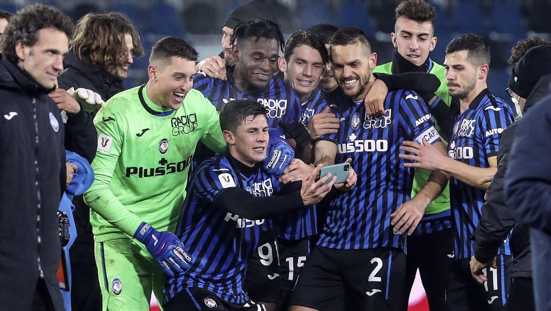 Atalanta - Napoli - İtalya Kupası - Sputnik Türkiye, 1920, 11.02.2021