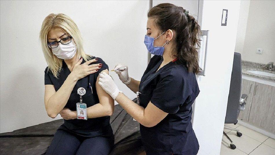 sağlık çalışanı, ikinci doz aşı, Türkiye