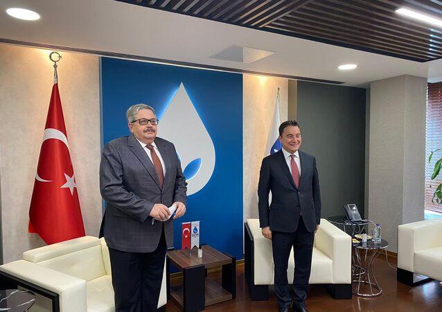 Rusya Büyükelçisi Yerhov Babacan'a nezaket ziyaretinde bulundu
