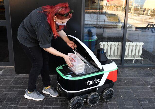 Yandex'in robot kuryesi
