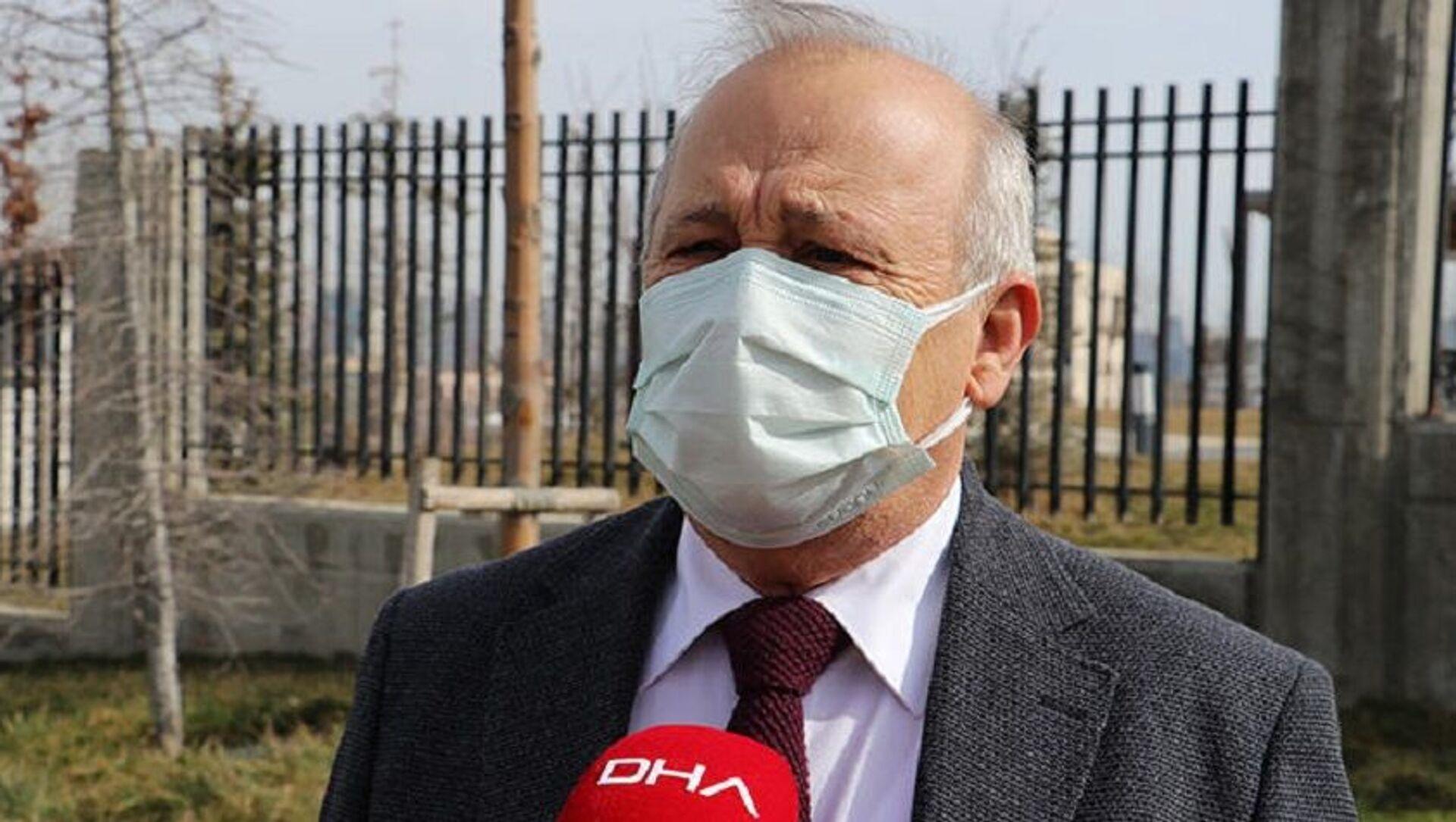 Sağlık Bakanlığı Bilim Kurulu üyesi Prof. Dr. Levent Akın - Sputnik Türkiye, 1920, 12.02.2021
