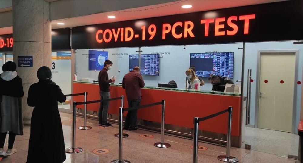 Esenboğa Havalimanı koronavirüs test merkezi, PCR