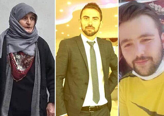 Makbule Sarı ve katil zanlıları Hayrettin Görgülü, Serkan Uluz