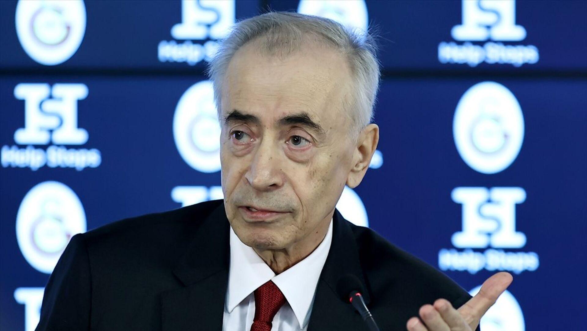 Galatasaray Kulübü Başkanı Mustafa Cengiz - Sputnik Türkiye, 1920, 04.08.2021