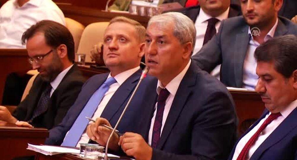 İstanbul Büyükşehir Belediye (İBB) Meclisi AK Parti Grup Sözcüsü Faruk Gökkuş