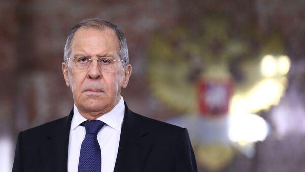 Sergey Lavrov - Sputnik Türkiye