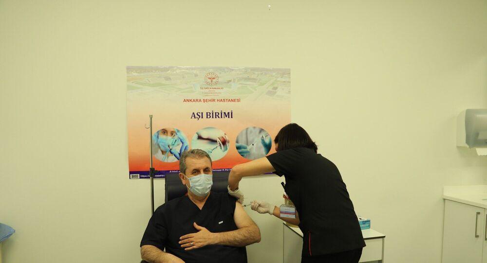 Mustafa Destici, aşı