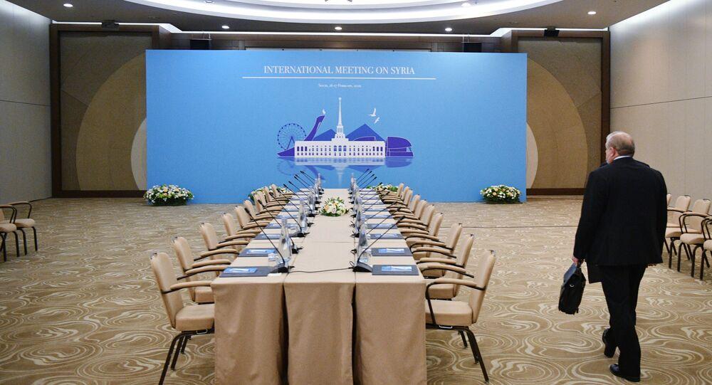 Soçi- Suriye konulu Astana görüşmeleri