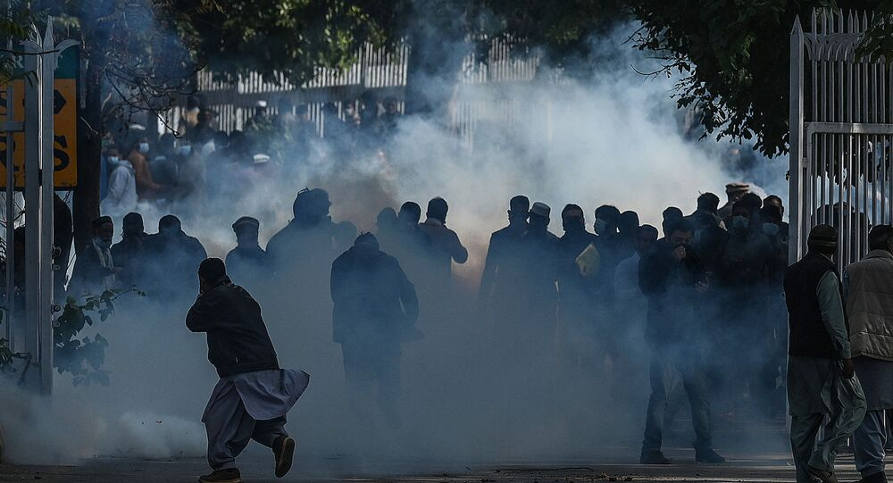 Pakistan - İslamabad - protesto