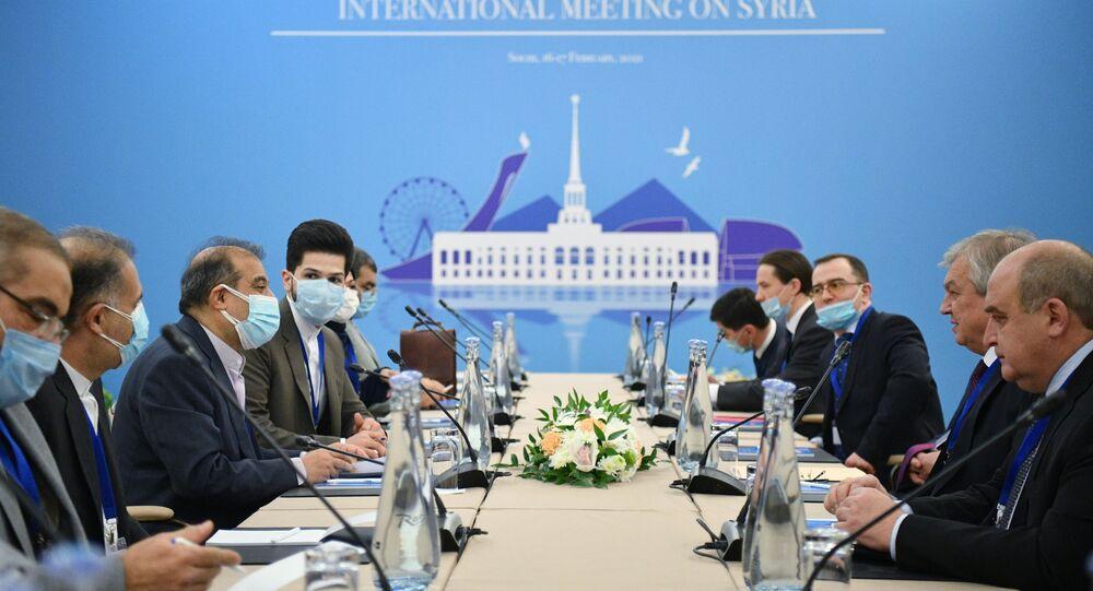 Astana görüşmesi