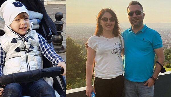 Anne, baba ve çocuğu bıçaklanarak öldürüldü - Sputnik Türkiye