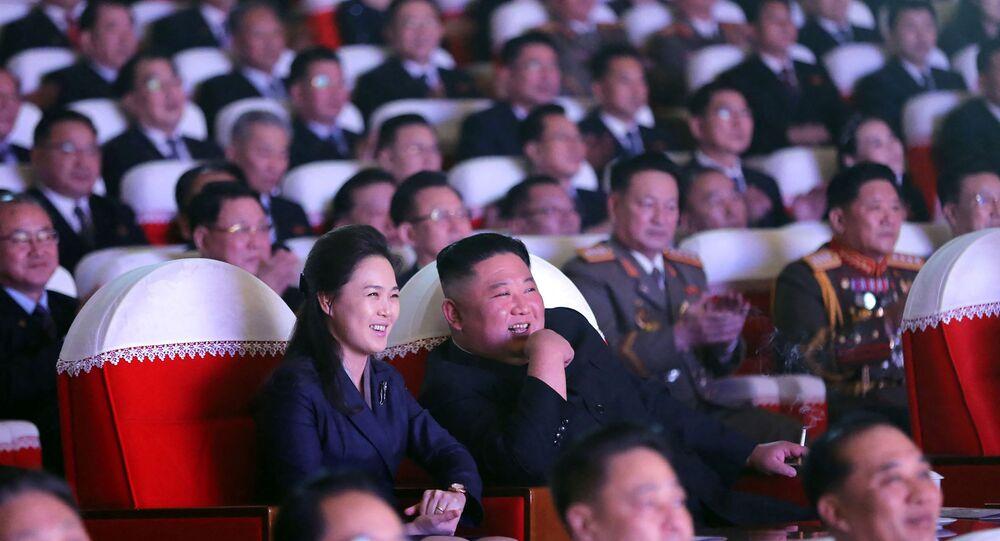 Kim Jong-un/ Ri Sol-ju