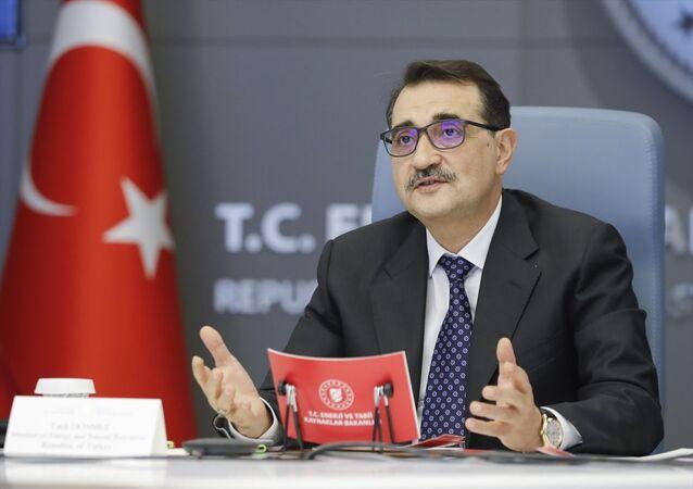 Enerji ve Tabii Kaynaklar Bakanı Fatih Dönmez