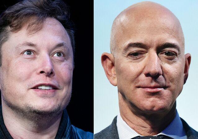 Elon Musk- Jeff Bezos