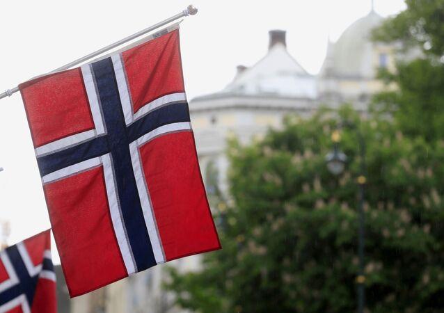 Norveç, bayrak