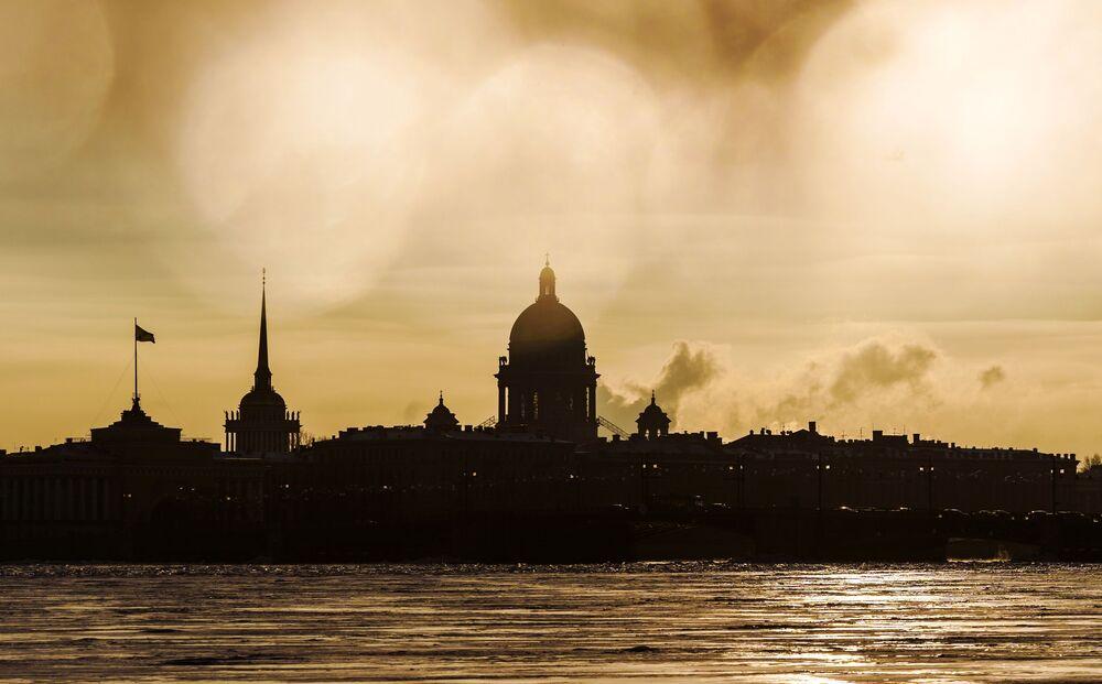 Rusya'nın St. Petersburg kenti