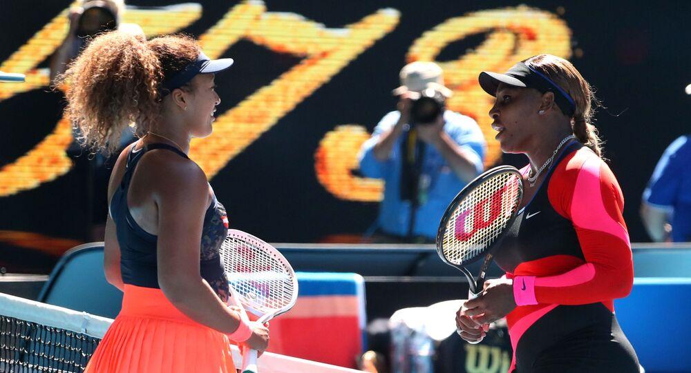 Naomi Osaka- Serena Williams