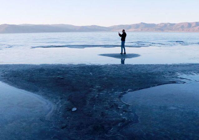Son yağışlar da Salda Gölü'ne çare olmadı: Kuruma tehlikesiyle karşı karşıya