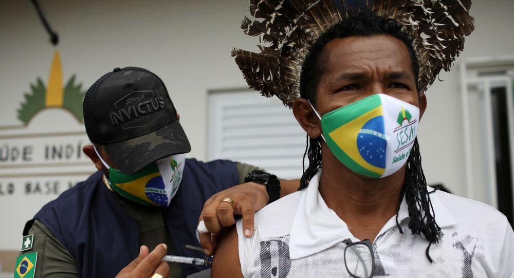 Brezilya- CoronaVac aşısı
