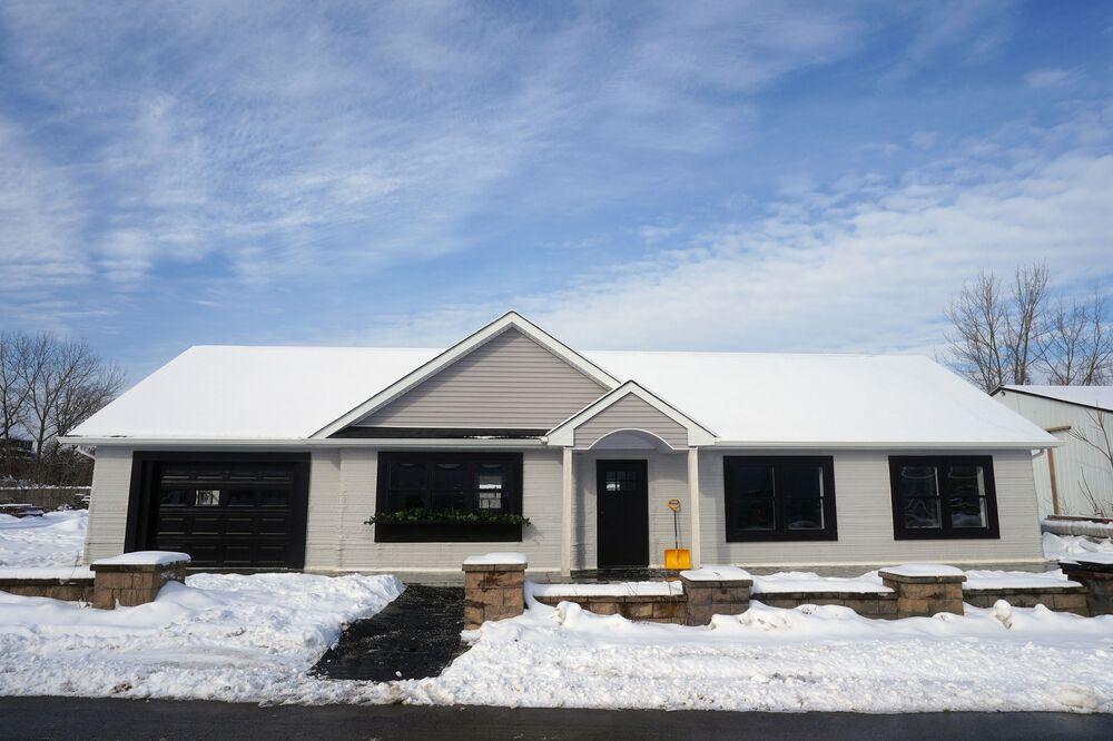 Tamamen 3D yazıcı kullanılarak inşa edilen evin fiyatı 299 bin dolar.