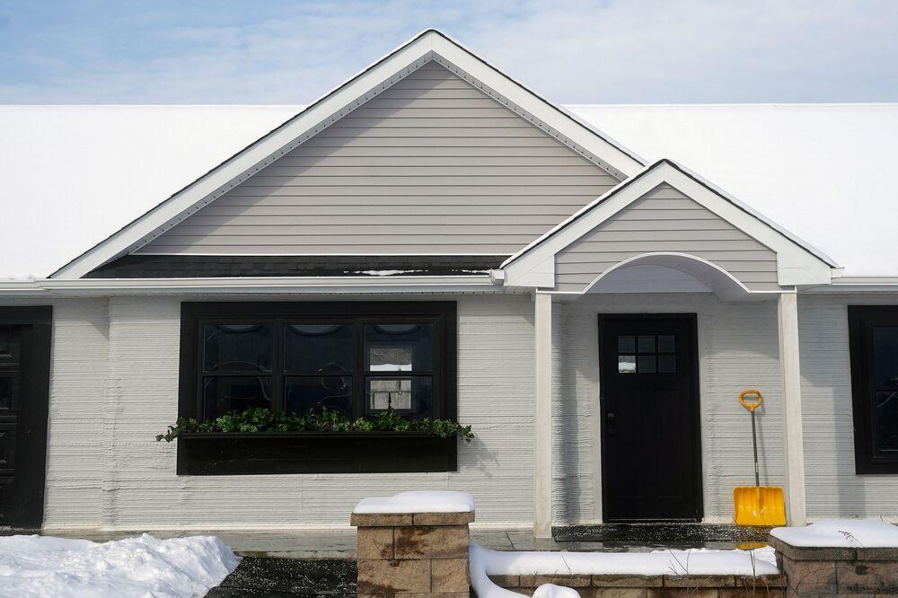 Bir garajı da bulunan evin, garaj haricinde kapladığı alan toplamda 130 metrekare.