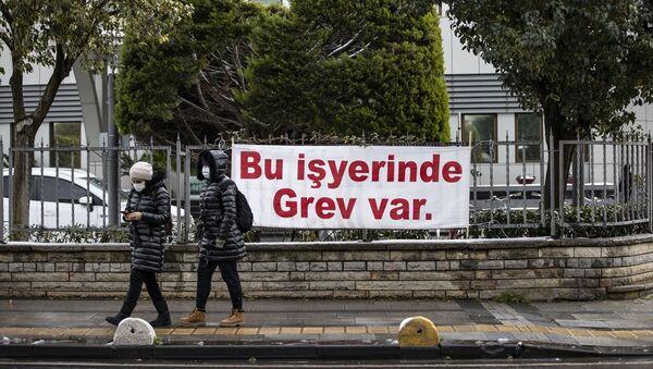 Kadıköy Belediyesi, işçi grevi - Sputnik Türkiye