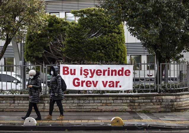 Kadıköy Belediyesi, işçi grevi
