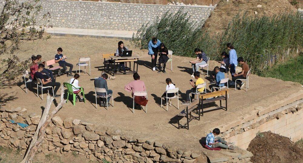 uzaktan eğitim, köy